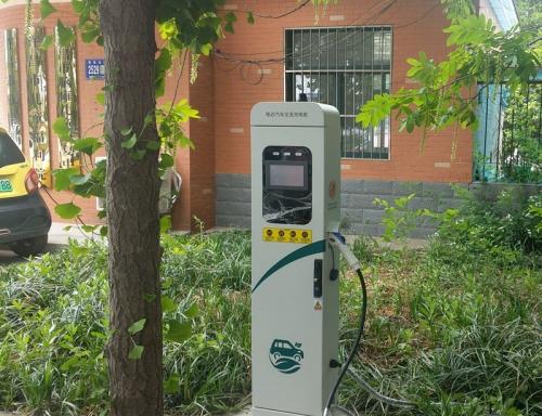 电动汽车充电桩 3