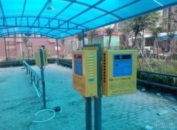 小区充电站-电动车充电桩