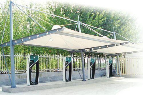 小区电动车充电站